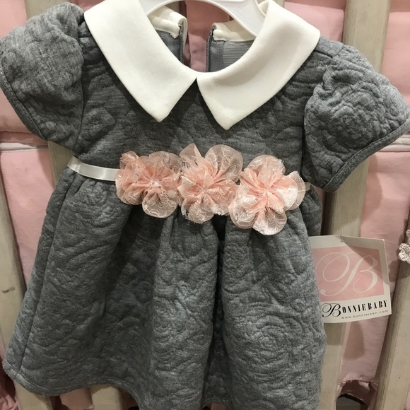 25301f49a2da Bonnie Baby Dresses | Nwt Cute Classy Baby Girl Dress | Poshmark